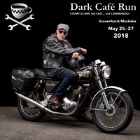Dark Cafe Run Motorcycle Event May 25-27, 2018